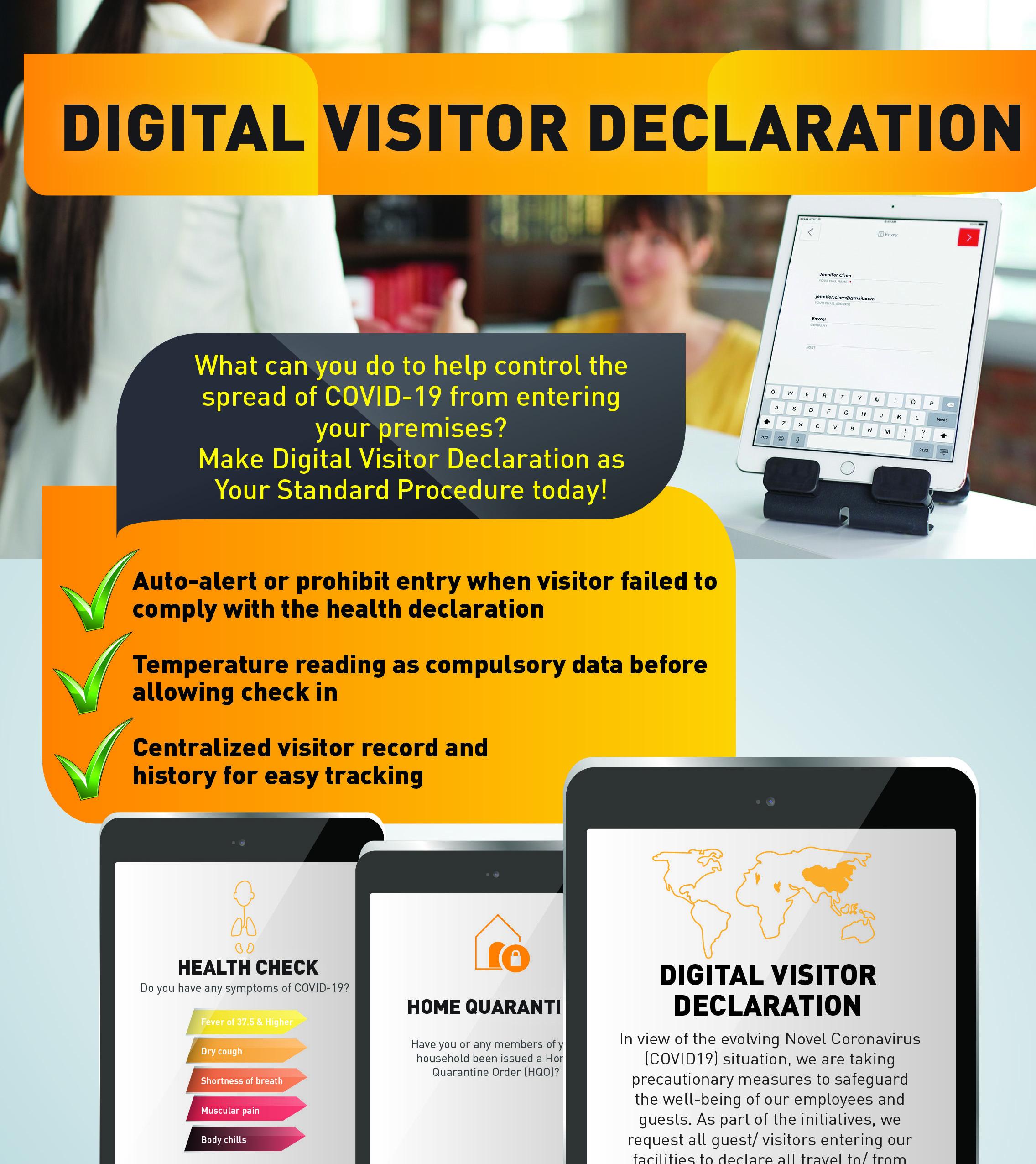 Digital Visitor Declaration